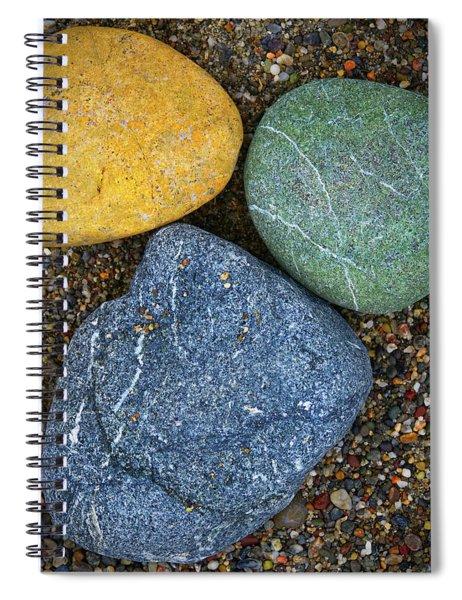 Triplet Spiral Notebook by Skip Hunt