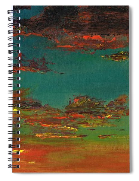 Triptych 3 Spiral Notebook