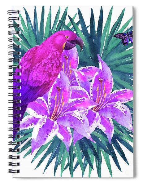 Tropic Dreams Spiral Notebook