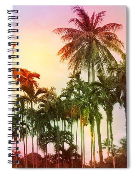 Tropical 11 Spiral Notebook