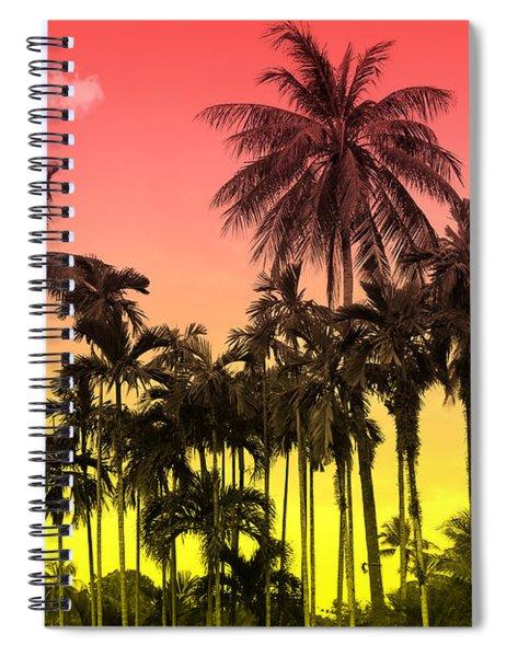 Tropical 9 Spiral Notebook