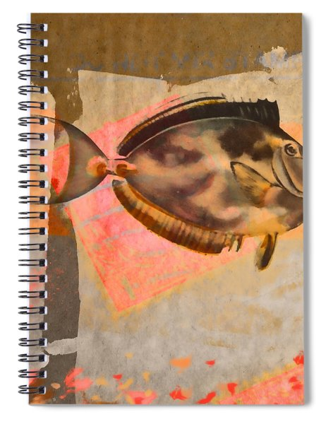 Tropical Dream Number 1 Square Format Spiral Notebook
