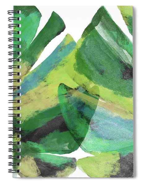 Tropical Dreams 1- Art By Linda Woods Spiral Notebook