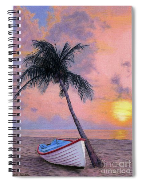 Tropical Escape Spiral Notebook
