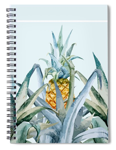 Tropical Feeling  Spiral Notebook