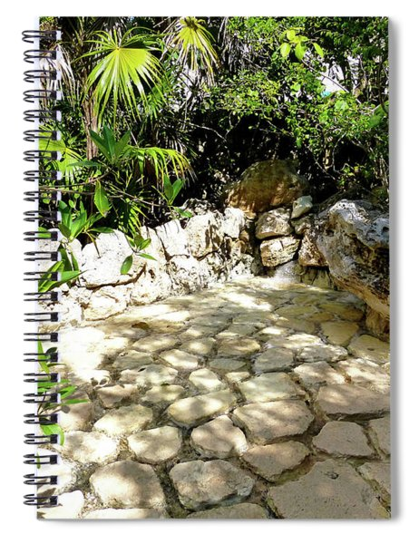 Tropical Hiding Spot Spiral Notebook