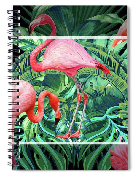 Tropical Mood  Spiral Notebook