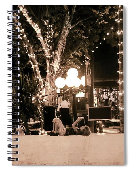 Tropical Nights Spiral Notebook