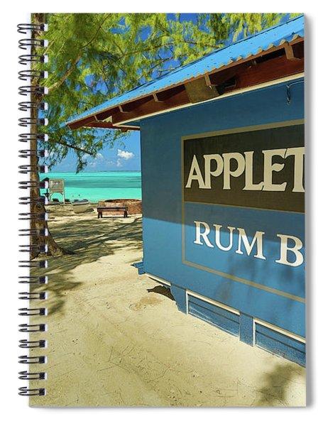 Tropical Rum Bar Spiral Notebook