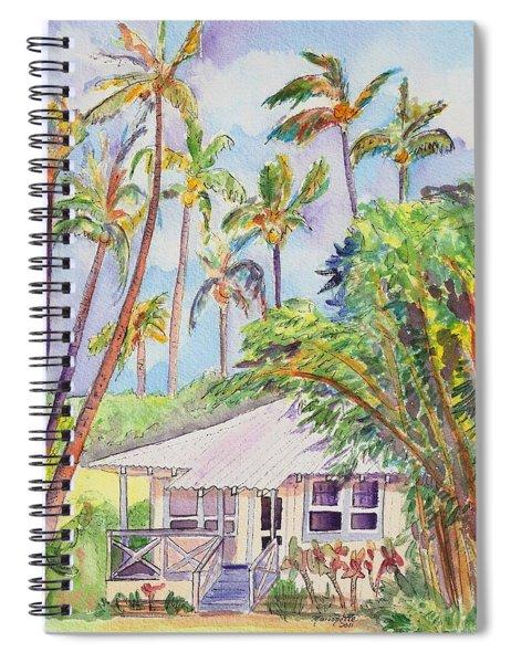 Tropical Waimea Cottage Spiral Notebook