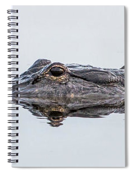 Trouble In Calm Waters Spiral Notebook