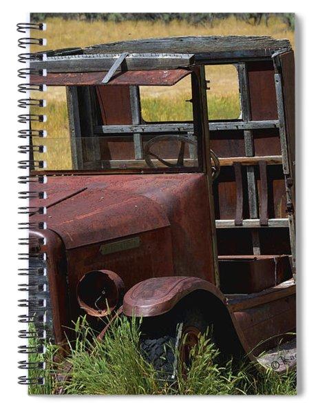 Truck Long Gone Spiral Notebook