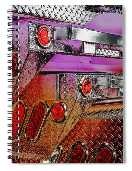 Truck Trailers Stacked 1 Spiral Notebook