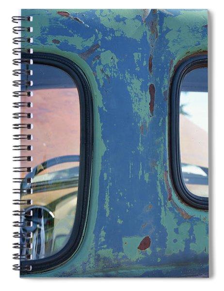 Truck Windows And Rust Spiral Notebook
