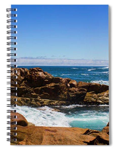 True Blue Aussie Coastline Spiral Notebook