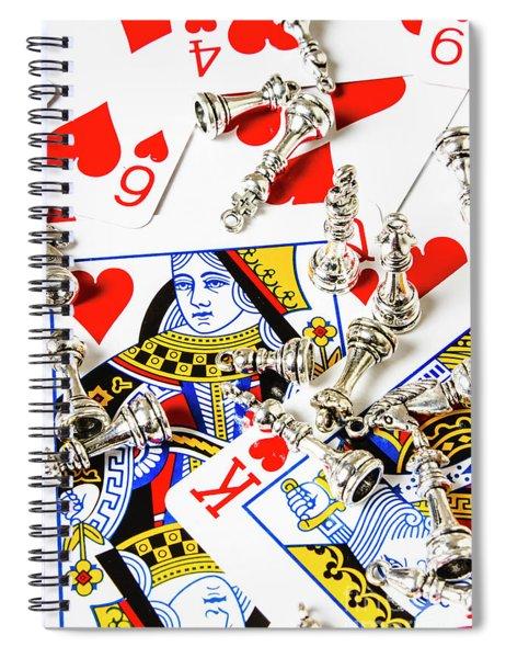 True Love Reigns Supreme Spiral Notebook