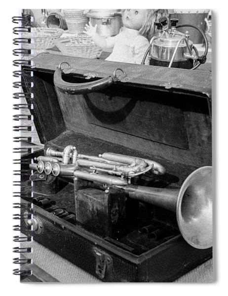 Trumpet For Sale Spiral Notebook