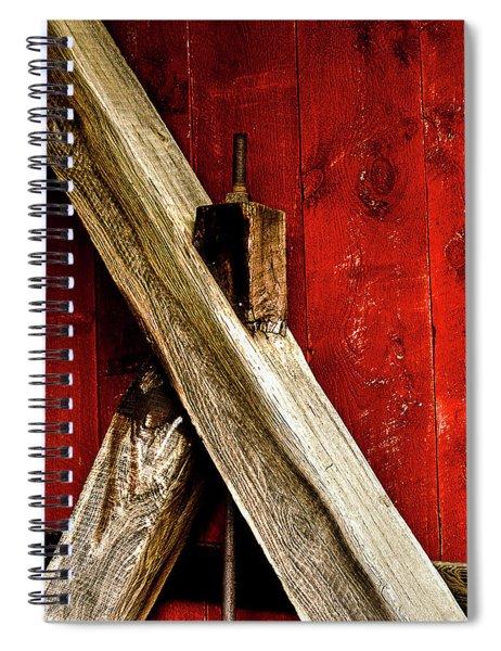 Trussed Bridge Spiral Notebook