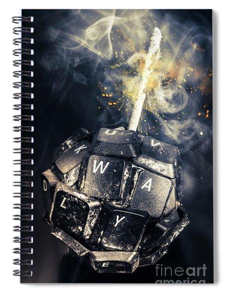 Truth Bombs Spiral Notebook
