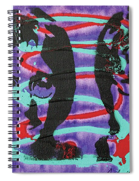 Trying To Change The Whole Wide World Spiral Notebook