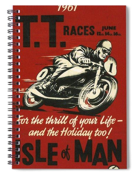 Tt Races 1961 Spiral Notebook