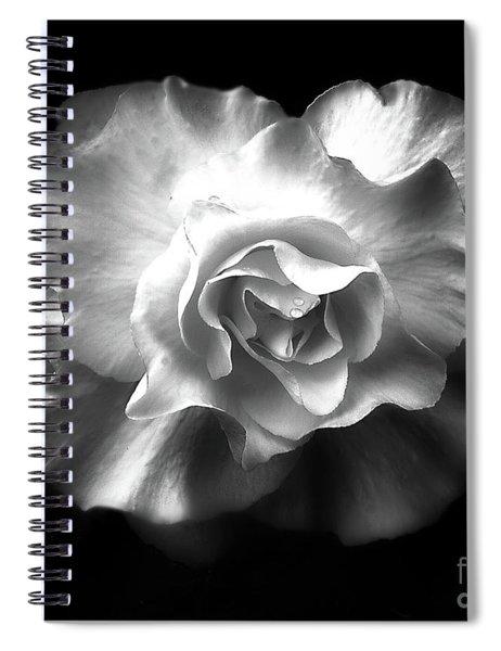 Tuberous Begoonia Spiral Notebook
