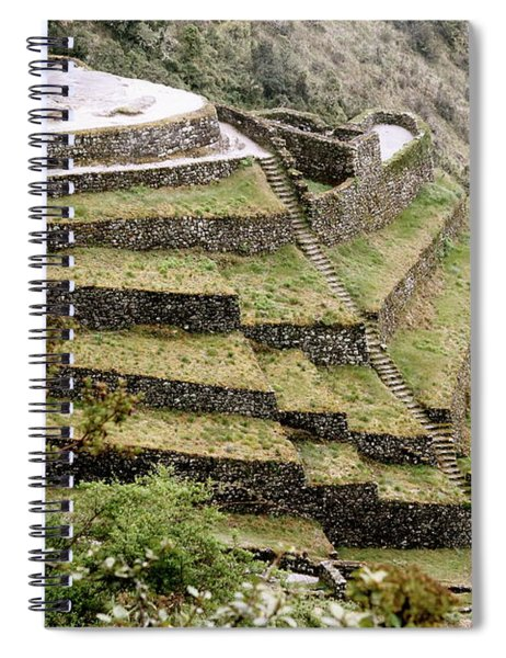 Tucked In A Mountain Spiral Notebook