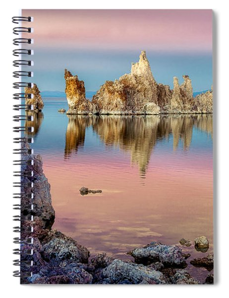 Tufas At Mono Lake Spiral Notebook