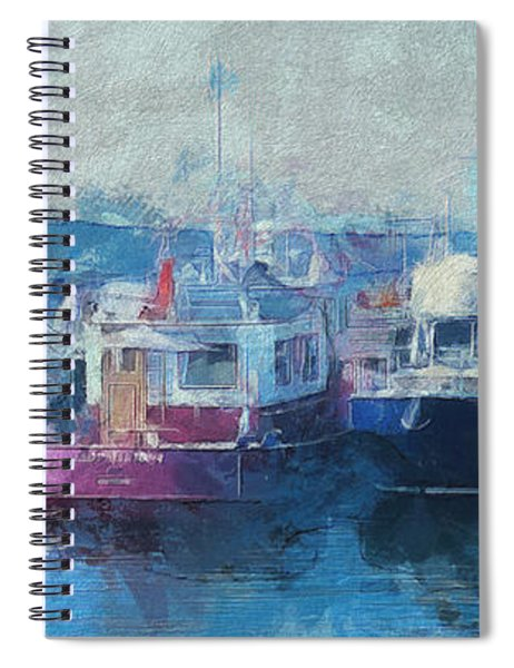 Tugs Together  Spiral Notebook