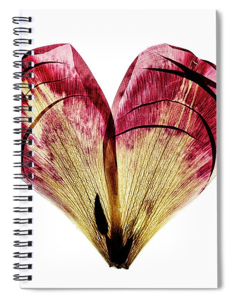 Tulip Heart Spiral Notebook