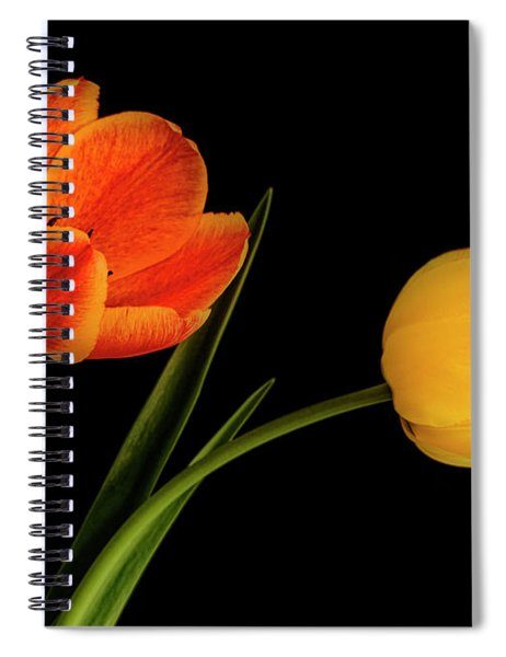 Tulip Pair Spiral Notebook