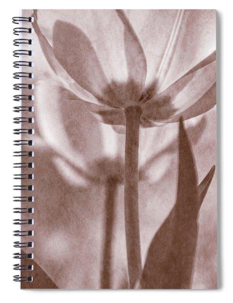 Tulip Transparency II Spiral Notebook