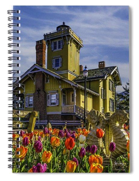 Tulips Af Hereford Light Spiral Notebook
