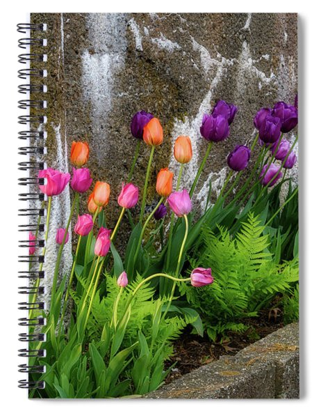 Tulips In Ruin Spiral Notebook