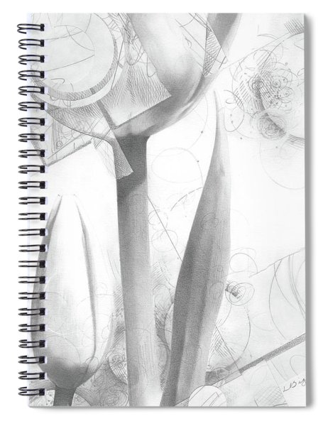 Tulips No. 2 Spiral Notebook