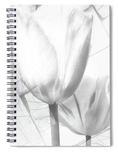 Tulips No. 3 Spiral Notebook