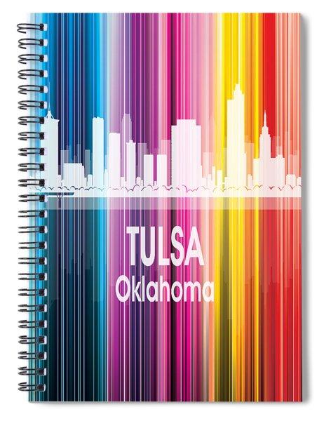 Tulsa Ok 2 Vertical Spiral Notebook