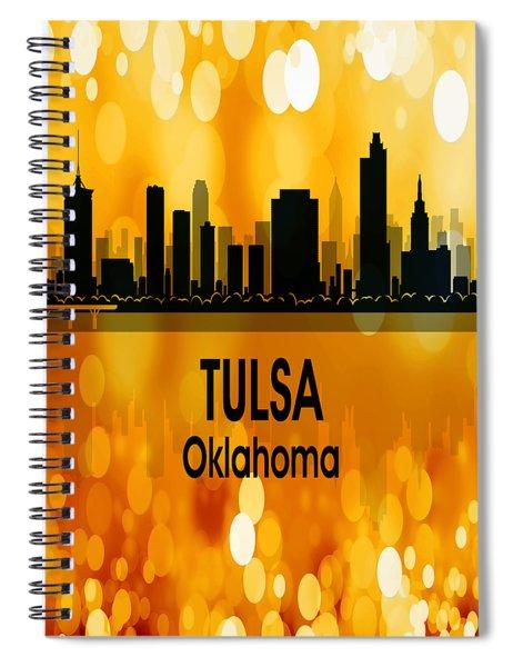 Tulsa Ok 3 Vertical Spiral Notebook
