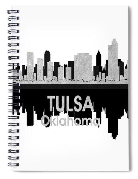 Tulsa Ok 4 Squared Spiral Notebook