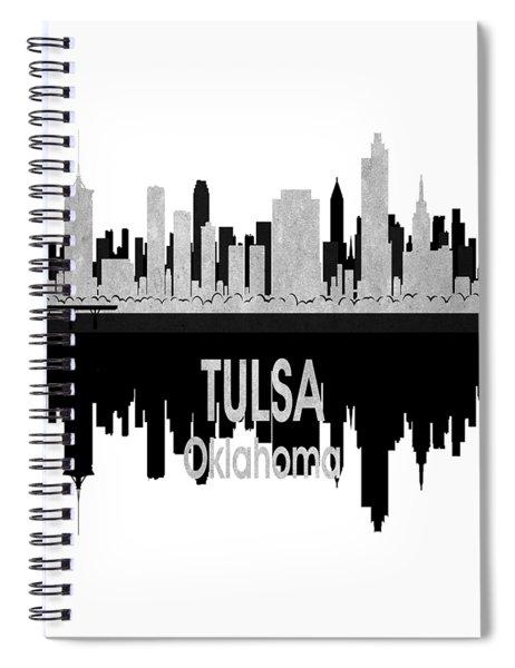 Tulsa Ok 4 Vertical Spiral Notebook