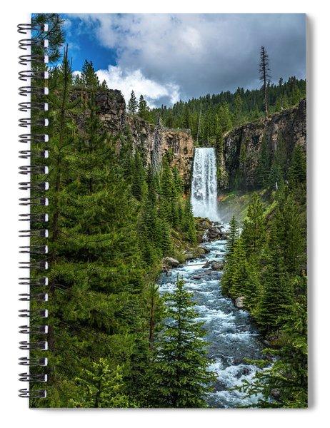 Tumalo Falls Spiral Notebook