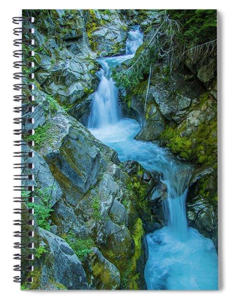 Tumbling Spiral Notebook