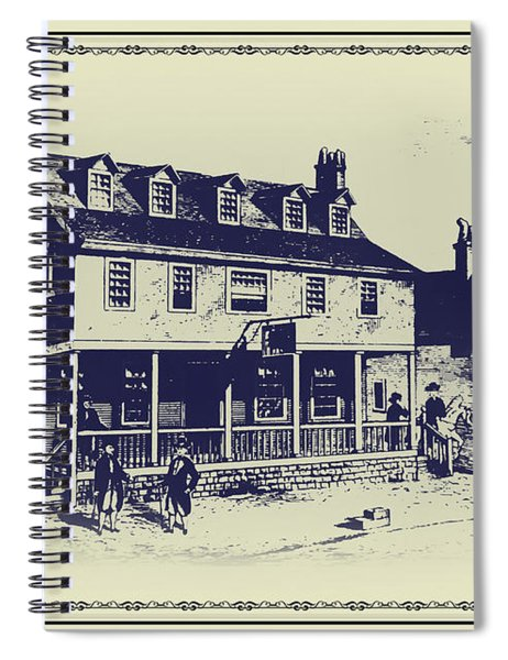 Tun Tavern - Birthplace Of The Marine Corps Spiral Notebook