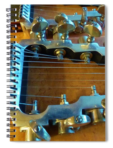Tuning Pegs On Sho-bud Pedal Steel Guitar Spiral Notebook