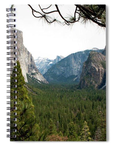 Tunnel View Framed Spiral Notebook