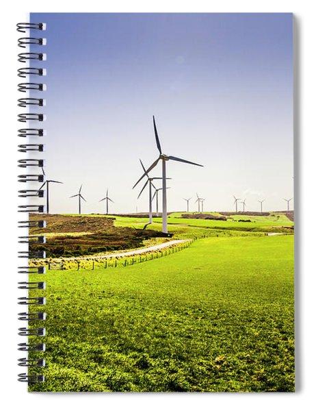 Turbine Fields Spiral Notebook