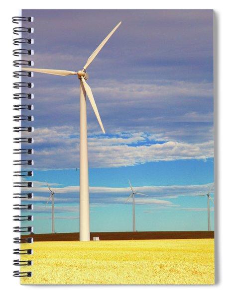 Turbine Formation Spiral Notebook