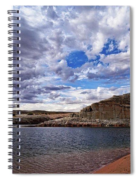 Turbulent Skies Spiral Notebook