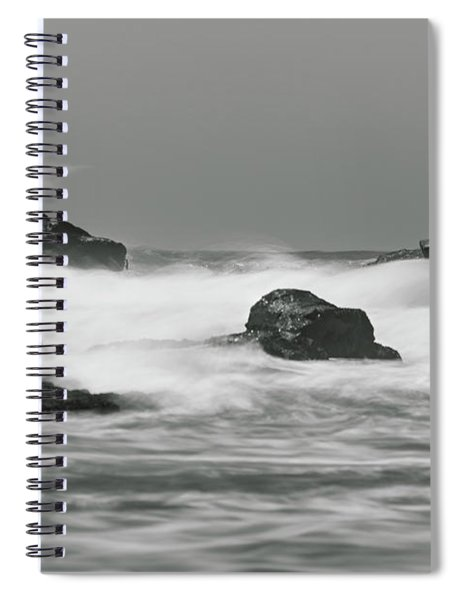 Turbulent Thoughts Spiral Notebook