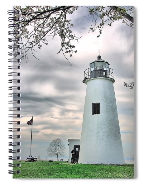 Turkey Point Lighthouse Spiral Notebook